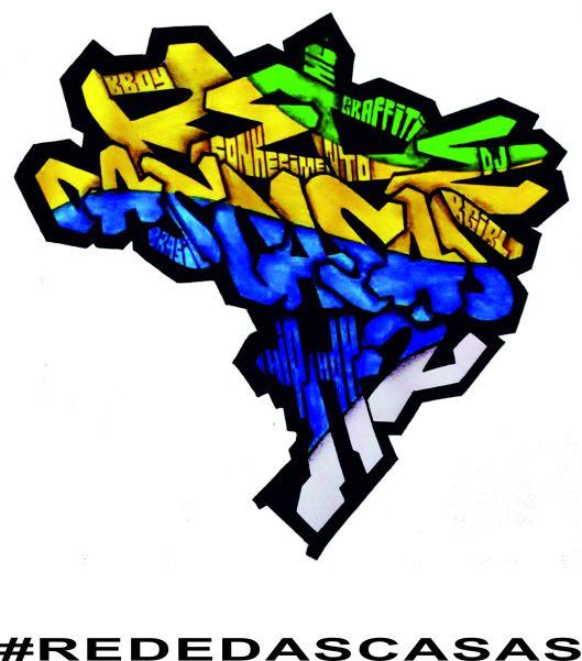 Logo que representa a essência da Cultura Hip Hop em Movimento Social no Brasil