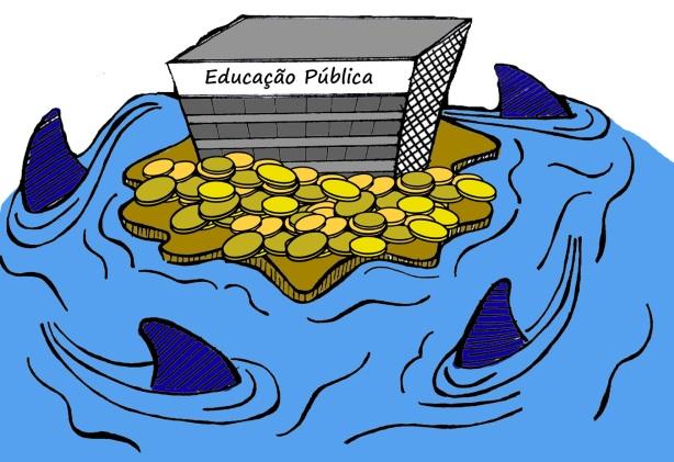 Resultado de imagem para educação publica a beira da morte